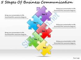 templates for business communication 2613 business ppt diagram 5 stages of business communication