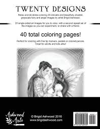 amazon com enchanted fairies u0026 angels grayscale coloring book