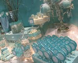 Tiffany Blue Candy Buffet by Tiffany Blue Wedding Theme Weddings Romantique Tiffany Style