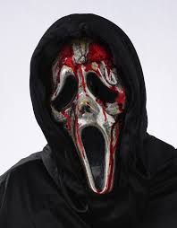 a922 dripping bleeding scream ghost face zombie mask halloween
