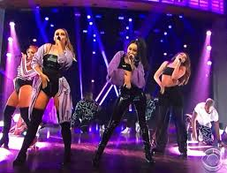 little mix show little mix hit the late late show with james corden spin1038