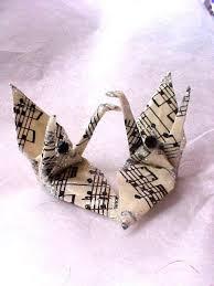 Origami Wedding Cake - sheet score peace crane origami wedding cake topper by