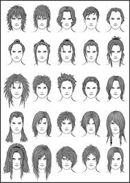 different hairstyles for men and women guy hairstyles drawing