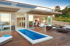 small lap pools small pool wood deck and i m sure a fabulous ocean view small