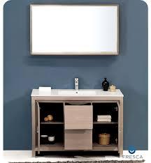 fresca allier 36 quot wenge brown modern bathroom vanity w fresca fvn8148go allier 48 modern bathroom vanity with mirror in