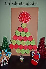 Christmas Tree Advent Diy Holiday Tree Advent Calendar Life With Kathy