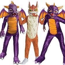 Skylanders Halloween Costume Child Skylanders Giant Fancy Dress Costume Spyro Dragon
