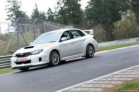 subaru wrx sti 2011 video 2011 subaru impreza wrx sti test car laps the nurburgring