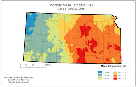 Kansas State Campus Map by Kansas Office Of The State Climatologist Monthly Maps