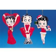 betty boop ornament 4 1 2 with new
