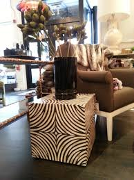 Zebra Side Table Decorium Explains How To Refresh Your Space In 2014