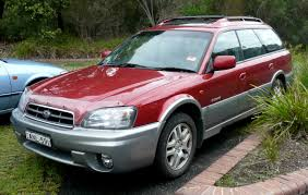 subaru station wagon green view of subaru outback 2 5 at photos video features and tuning
