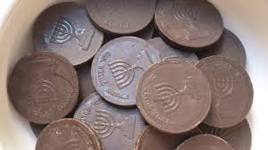 hanukkah chocolate coins a call to raise the chocolate bar for hanukkah gelt the times
