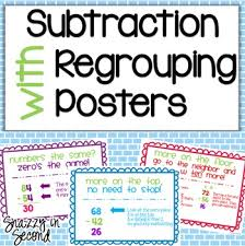 subtraction teaching subtraction regrouping free math