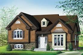 attractive 3 bedroom split level 80019pm architectural designs