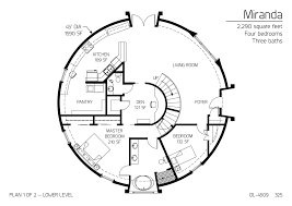 floor plan dl 4509 monolithic dome institute frugal lifestyle