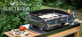 cuisine à la plancha électrique plancha gaz ou électrique