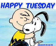 snoopy happy tuesday good morning images messages