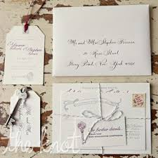 Vintage Wedding Programs Wedding Invitations Wedding Stationery