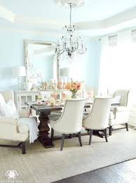 Light Blue Dining Room Cool Dining Room Chairs In A Rich Dining Room That