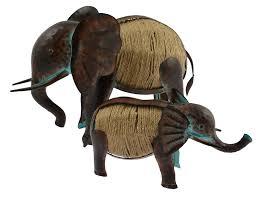 large metal elephant ornaments buy bird seed farm