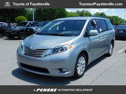 new toyota vehicles 2017 new toyota sienna limited fwd 7 passenger at toyota of