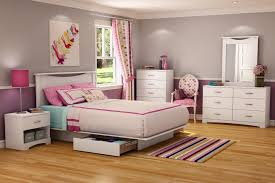 White Painted Bedroom Furniture Full Size White Painted Oak Wood Flat Bed Frame Which Completed
