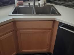 corner kitchen sink cabinet corner kitchen sink cabinet with narrow opening