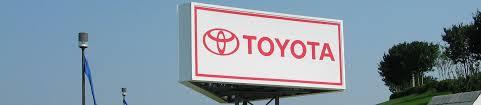 toyota company signs unlimited u2013 custom direct sign company