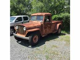 willys jeep truck 1948 willys pickup for sale classiccars com cc 884930