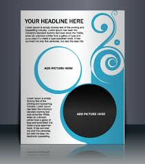 free design templates for flyers free vectors vector flyer layout