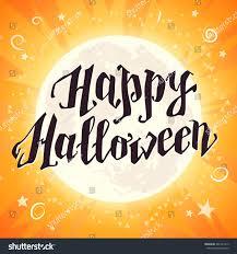 halloween background vector vector flat halloween card advertisement banner stock vector