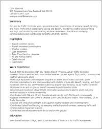 Aircraft Dispatcher Resume Professional Air Traffic Controller Templates To Showcase Your