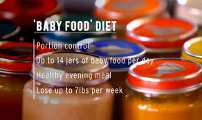 how to lose weight well investigates the baby food diet diets