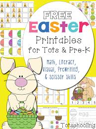 free easter printables for toddlers and prek totschooling