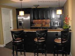 basement kitchen bar ideas basement bar with granite countertops and stainless steel
