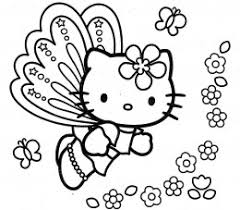 kitty coloring pages prints colors 3032