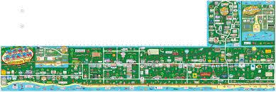 Long Island New York Map by Long Beach Maptoons U2013 Long Island Chamber Maps