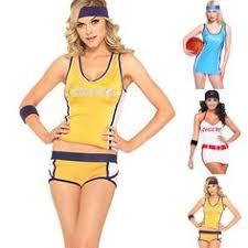 Cute Cheerleading Costumes Halloween Women U0027s Los Angeles Lakers Basketball Player Costume Ideas