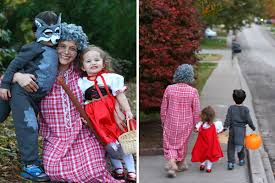 Granny Halloween Costumes Red Riding Hood Family Costume Annual Halloween Costume