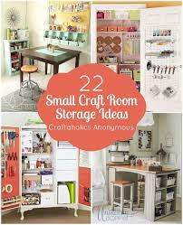 Storage Shelves For Small Spaces - craftaholics anonymous small craft room storage ideas