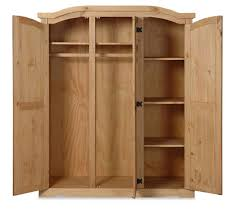 unfinished armoire wardrobe create exquisite look with any finish
