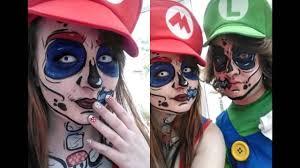 super mario zombie body paint youtube