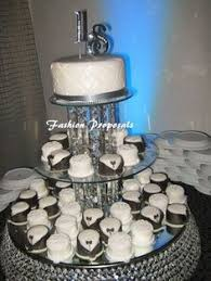 wedding 3 tiers cake stand wedding crystal by fashionproposals