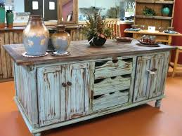 turquoise kitchen island distressed turquoise kitchen cabinets antique large kitchen island