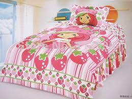 Duvet Covers For Single Beds Shortcake Strawberry Single Bed Cartoon Duvet Cover Set