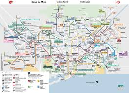 Metro Map Tokyo Pdf by Barcelona Subway Map Pdf My Blog