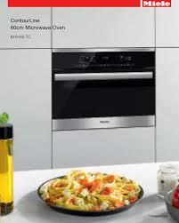 miele cuisine miele m 6160 tc specification sheet