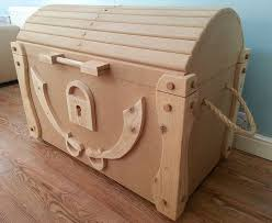 Build A Toy Box Chest by Treasure Chest Toybox Diy Pinterest Pirate Bedroom Storage
