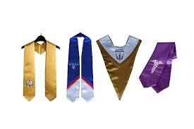 graduation stoles 8 great graduation stole types graduationsource